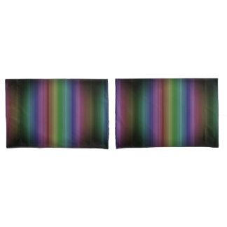 Linha teste padrão da listra da rocha do arco-íris