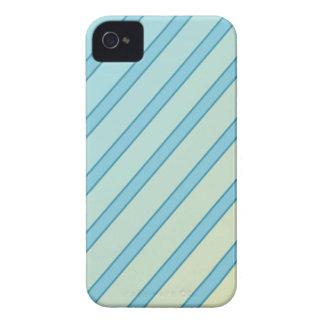 Linhas azuis capas para iPhone 4 Case-Mate