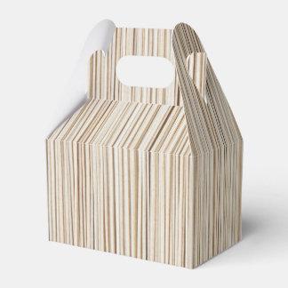Linhas de madeira abstratas bonitos design caixinha