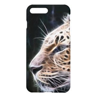 Linhas do leopardo, pintura do leopardo capa iPhone 7 plus