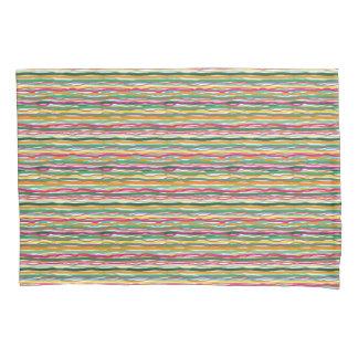 Linhas onduladas Hippie do tom da terra por todo o