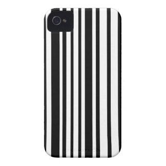 Linhas preto e branco capa para iPhone
