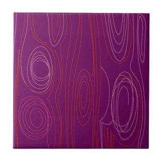 Linhas roxas do design geométrico