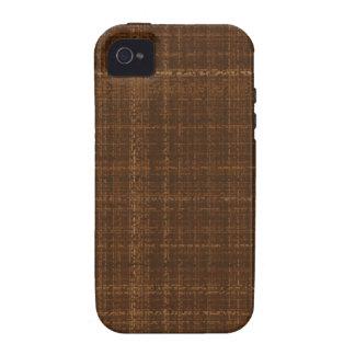Linhas transversais TPD de Brown Capinhas iPhone 4/4S