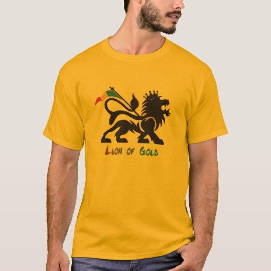 Lion Of  Gold. Camiseta