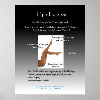 Lipodissolve Poster