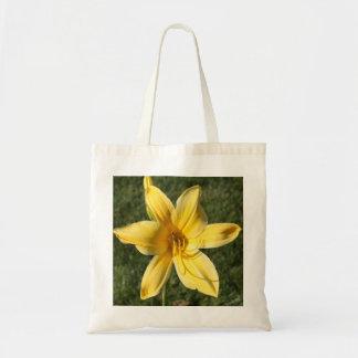 Lírio amarelo bolsa de lona