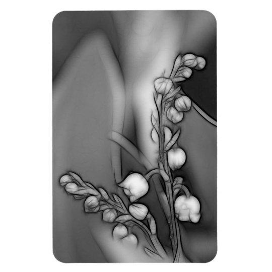 Lírio das flores do vale ímã