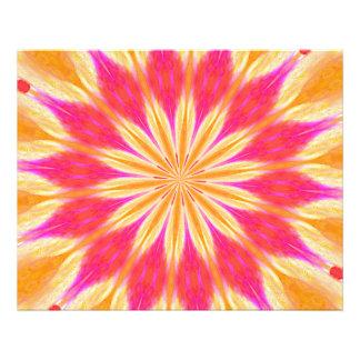 Lírio de limão cor-de-rosa impressão de foto