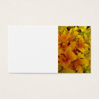 Lírios Cartão De Visitas