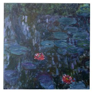 Lírios de água de Monet e reflexões de um