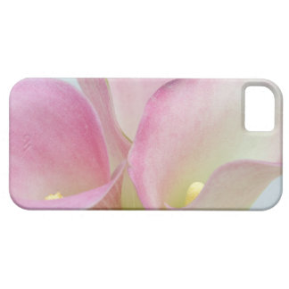 Lírios de Calla cor-de-rosa Capa Barely There Para iPhone 5