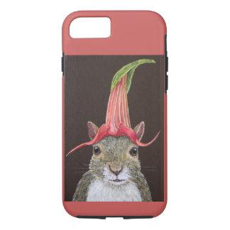 Lisa o iPhone 8/7 do esquilo, capa de telefone