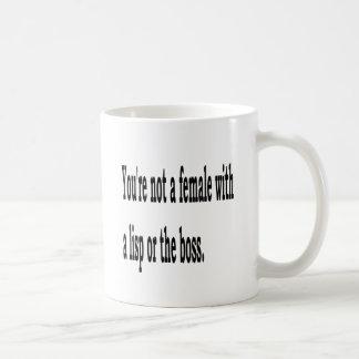 Lisp fêmea, 3w caneca de café