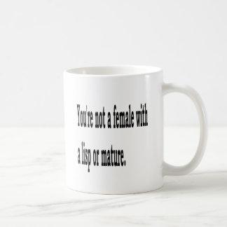 Lisp fêmea, 4 caneca de café