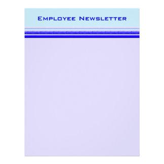 Listra azul brilhante no negócio profissional past modelo de panfleto