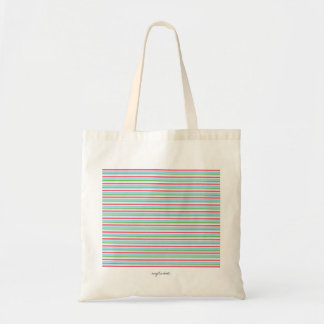 Listra cor-de-rosa bolsa para compra