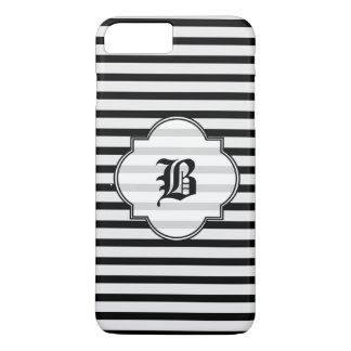 Listra preto e branco capa iPhone 7 plus