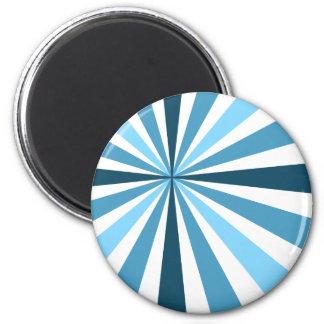 Listras azuis modernas imã