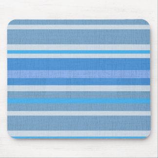 Listras azuis mousepad
