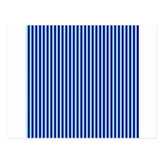 Listras - azul 2 - azuis pálido e azuis marinhos cartões postais