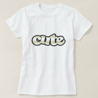 Listras bege; Listrado T-shirts