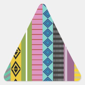 Listras bolivianas adesivo triangular