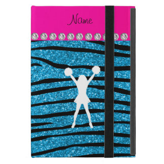 Listras conhecidas da zebra do brilho dos azul-céu capas iPad mini