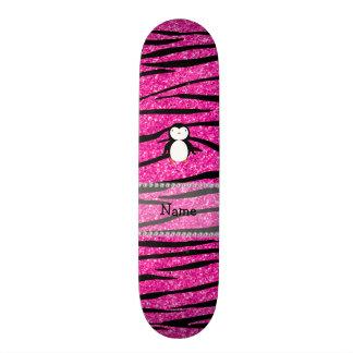 Listras conhecidas feitas sob encomenda da zebra d shape de skate 19,7cm