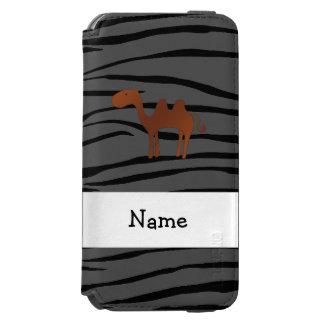 Listras conhecidas personalizadas da zebra do