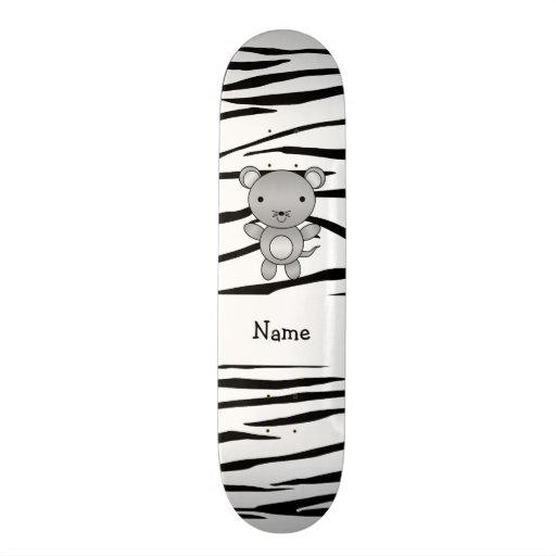 Listras conhecidas personalizadas da zebra do rato skate
