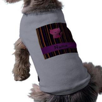 Listras conhecidas personalizadas do Dia das Bruxa Roupa Para Pet
