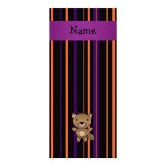 Listras conhecidas personalizadas do Dia das Bruxa Panfleto Informativo Personalizado