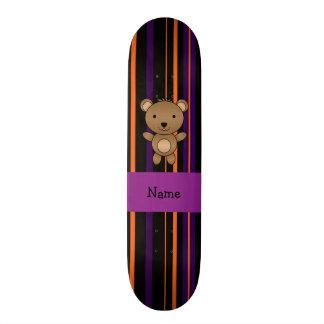 Listras conhecidas personalizadas do Dia das Bruxa Shape De Skate 18,4cm
