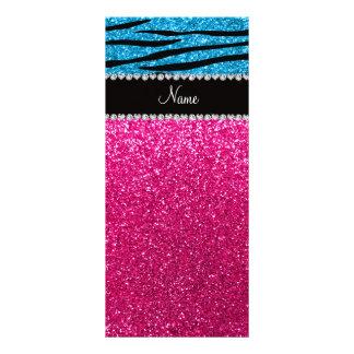 Listras cor-de-rosa conhecidas feitas sob encomend planfetos informativos coloridos
