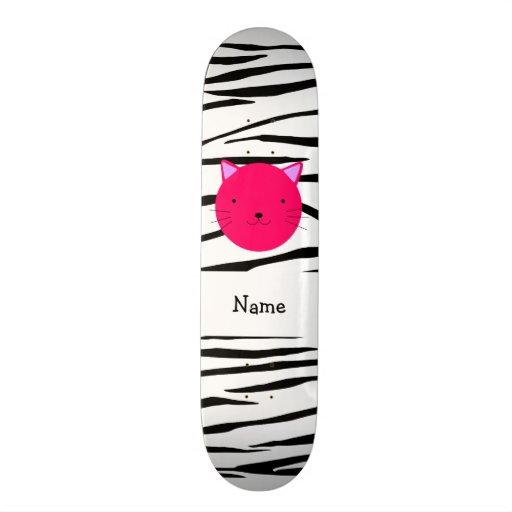 Listras cor-de-rosa conhecidas personalizadas da z skate