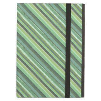 Listras da diagonal da verde azeitona