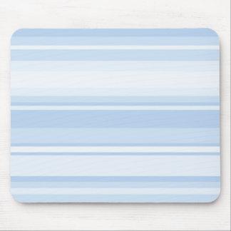 Listras de azuis bebés mouse pad