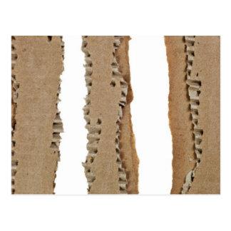 Listras de cartão ondulado