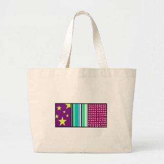 Listras e pontos das estrelas bolsas para compras