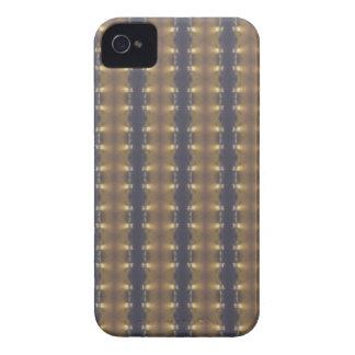 Listras e quadrados pretos clássicos do ouro de capinhas iPhone 4
