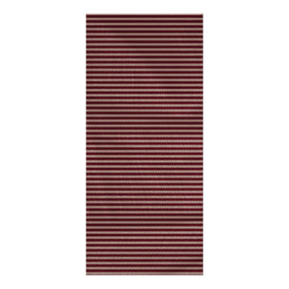 listras escuras do vermelho de Borgonha Modelo De Panfleto Informativo