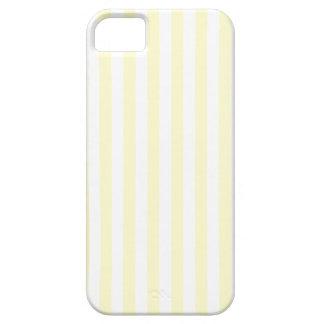 Listras finas - branco e creme capas para iPhone 5