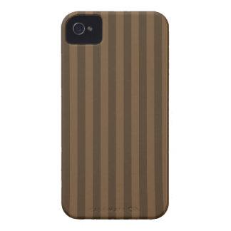 Listras finas - Brown e Brown escuro Capa Para iPhone