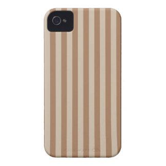 Listras finas - Brown e luz - marrom Capinhas iPhone 4