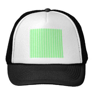 Listras finas - verde e luz - verde boné