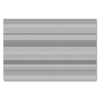 Listras horizontais cinzentas papel de seda