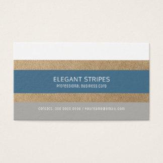 listras modernas à moda profissionais cartão de visitas
