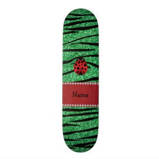 Listras vermelhas conhecidas personalizadas da zeb shape de skate 19,7cm