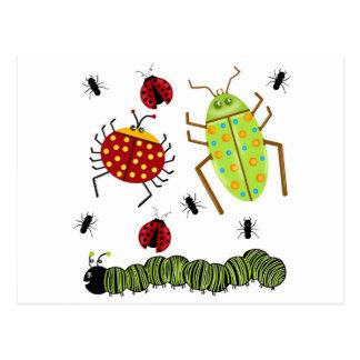 Littlebeane desinseta a formiga Caterpillar do joa Cartão Postal